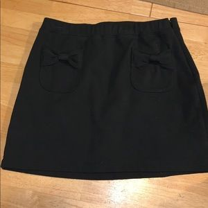💗3 for $15💗Gap Kids black cotton skirt with bows